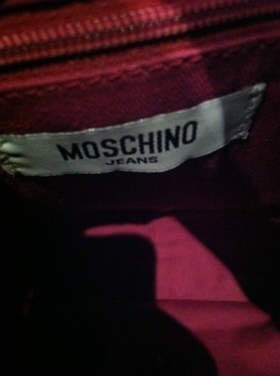 Moschino Boho Chic Spotless Fall Fringes Shoulder Bag