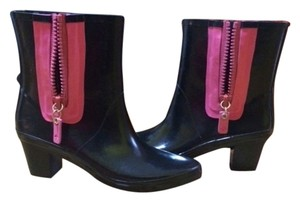 Kate Spade Black/Pink Boots