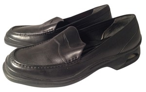 Cole Haan Men Men's Mens Nike Nike Air Black Leather Flats