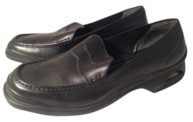 Cole Haan Black Leather Men's Nike Air Loafer Flats Size US 9.5 Regular (M, B) Cole Haan Black Leather Men's Nike Air Loafer Flats Size US 9.5 Regular (M, B) Image 1