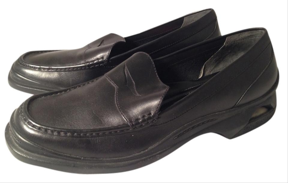 Cole Haan Black Leather Men s Nike Air Loafer Flats Size US 9.5 ... 2432f1ead