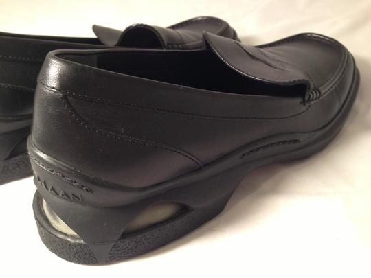 Cole Haan Men's Nike Air Loafer Comfort Black Leather Flats