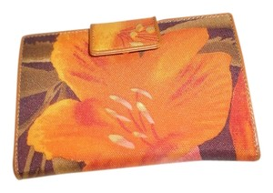Express Express multi color floral wallet