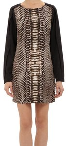 Twelfth St. by Cynthia Vincent Python Shift Mini Dress