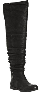 Prada Over The Knee Leather Tall Fall Trend Boots