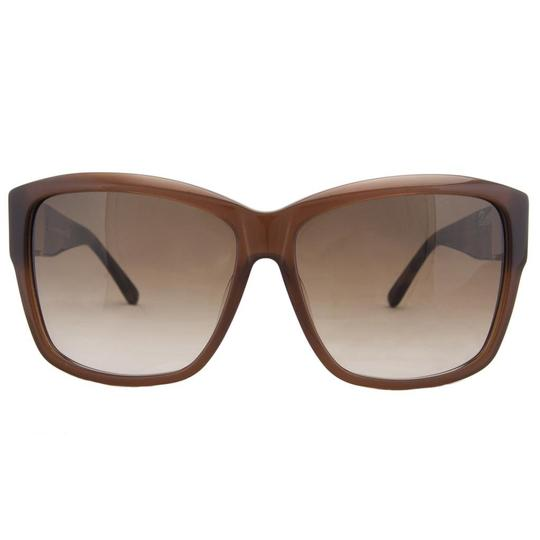 Swarovski Swarovski Brown Retro Square Sunglasses
