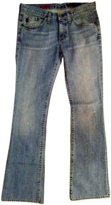 AG Adriano Goldschmied Size 27 Boot Cut Jeans-Light Wash