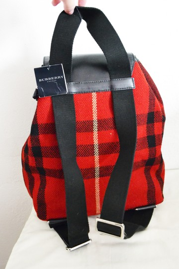 Burberry London Plaid Purse Backpack