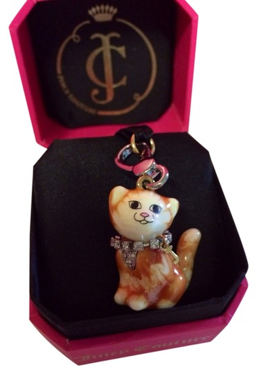Preload https://item2.tradesy.com/images/juicy-couture-multicolor-adorable-and-rare-orange-and-white-pave-chest-with-collar-tabby-kitty-cat-c-1140566-0-0.jpg?width=440&height=440
