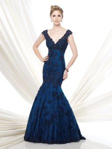 Mon Cheri Navy Blue Ivonne D Dress
