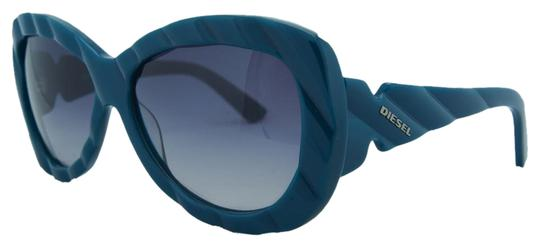Diesel Diesel Teal Oversized Sunglasses