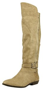 Madden Girl Riding Boot gray Boots