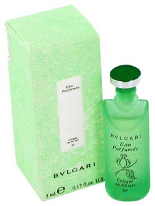 BVLGARI Bvlgari EAU PARFUMEE AU THE VERT GREEN TEA Unisex Womens Mens Perfume 0.17 oz 5 ml Eau De Cologne Mini Travel SIze