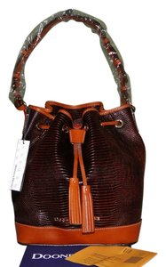 Dooney & Bourke Exotic Lizard Shoulder Bag