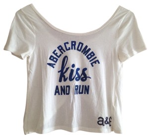 abercrombie kids Top White, Blue