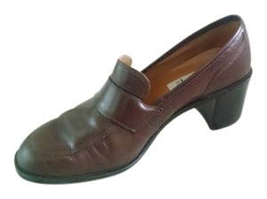 Maripé Leather Vintage brown Pumps