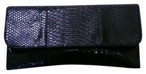 Lulu Townsend Black Clutch