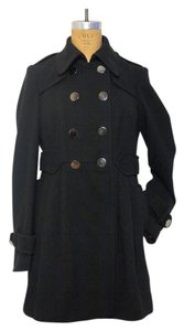 Miss Selfridge Faux Wool Pea Coat