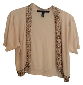 Robert Rodriguez Bolero Shrug Beaded Embellished Cardigan