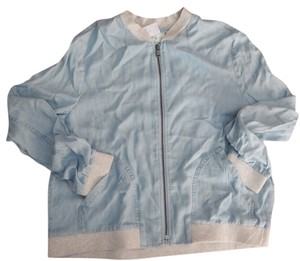 Lou & Grey Bomber Light Blue Jacket