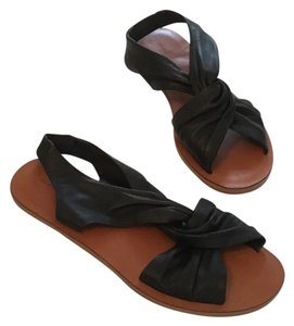 Derek Lam Black Leather Sandals