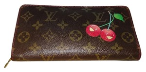 Louis Vuitton Louis Vuitton Murakami Cerise Cherry Long Zip Wallet