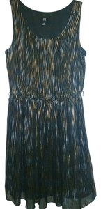 IZ Byer California short dress Black & Gold on Tradesy