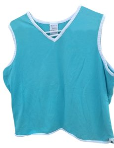 Westbound Blue And White, Blue Tank Top, Blue And White Tank Top, Tank Top, Stretch, Xl, Xl Stretch