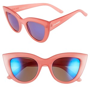 Steve Madden Steve Madden Pink Cat-eye Sunglasses