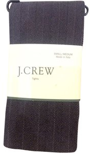 J.Crew Black/Grey Tights