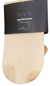 Saks Fifth Avenue Gold Tights