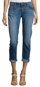 Eileen Fisher Boyfriend Cut Jeans-Light Wash