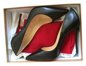 Christian Louboutin So Kate So Kate Leather Kid Leather Heels Nappa Leather Black Pumps