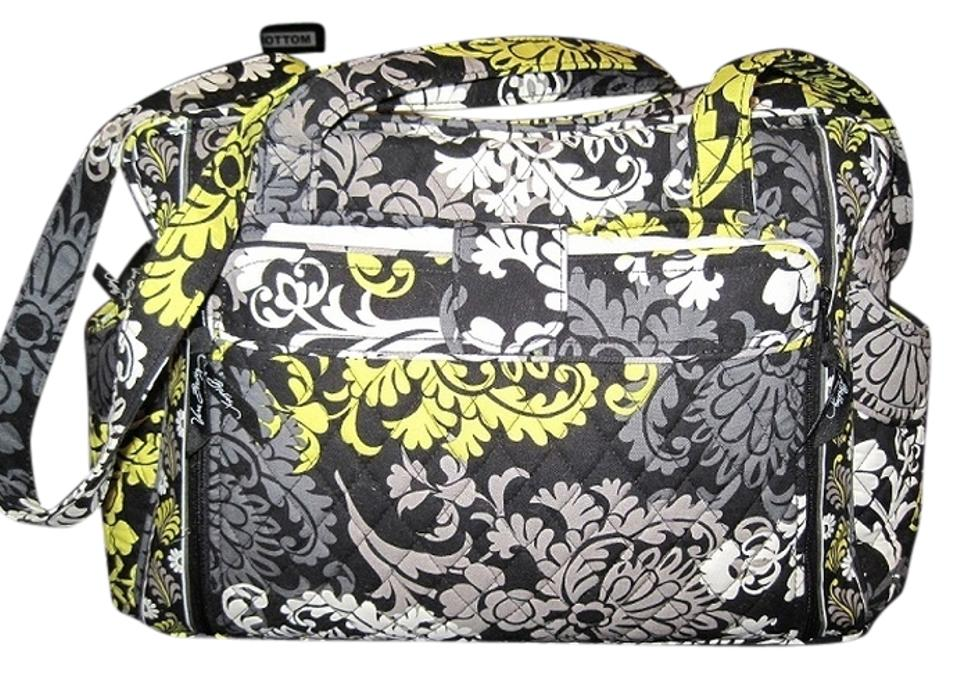 f4288699b0 Vera Bradley Make A Change In with Changing Mat Baroque - Lime Grey ...