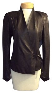Helmut Lang Blac Leather Jacket