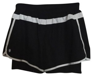 Athleta Black with white trim Shorts