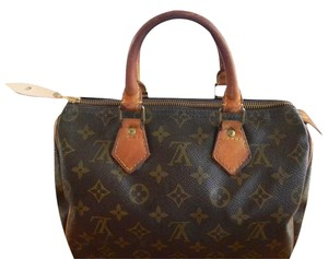 Louis Vuitton Speedy Speedy 25 Speedy Satchel in Brown monogram
