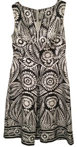 Banana Republic short dress Black & White Sleeveless on Tradesy