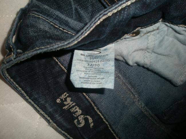 Silver Jeans Co. Excellent/Like New Condition * 5 Pocket Style * Zip Fly * Marking Detail * Stitched Back Pockets Boot Cut Jeans-Dark Rinse