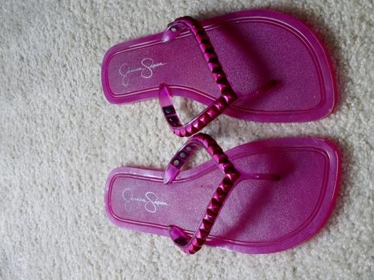 Jessica Simpson 9.5 Beach Summer Pink Sandals