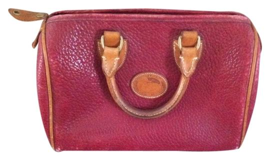 Preload https://item1.tradesy.com/images/dooney-and-bourke-vintage-red-leather-tote-1141385-0-0.jpg?width=440&height=440