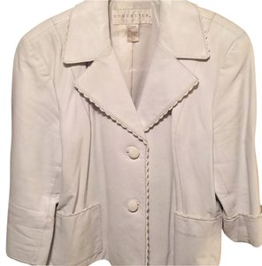 Doncaster White Leather Jacket