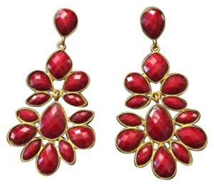 Amrita Singh Amrita Singh Red Nello Statement Earrings