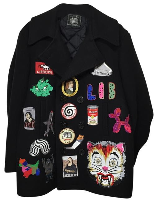 Item - Price Lowered Wool with Patches Coat Size 8 (M)