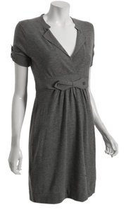 BCBGMAXAZRIA short dress Heather Grey on Tradesy