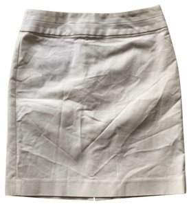 Banana Republic Mini Summer Cotton Date Night Mini Skirt White