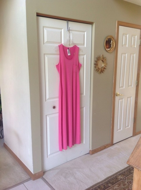 Pink Maxi Dress by om