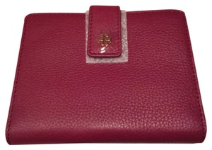 Tory Burch Pebbled Passport Holder