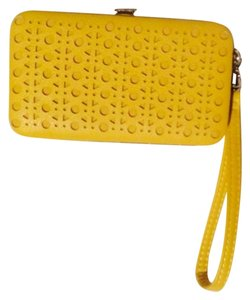 Xhilaration Wristlet in Yellow