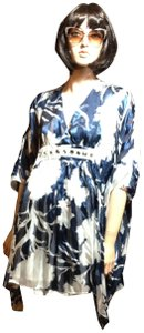 VENUS Pool Sheer Cover Up Batwing Silk Retro Tunic